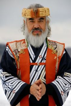 Ainu man, Japan.  He is genetic proof that the Japanese have a Northern European ancestry in their background, dating back thousands of years ago.  The world is an interesting place!