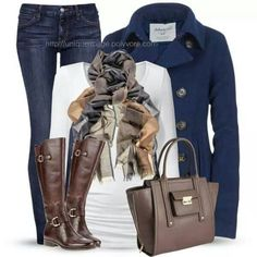 I like the scarf in this one. - #Scarf Mode Outfits, Casual Outfits, Fashion Outfits, Womens Fashion, Fashion Trends, Fashionista Trends, Classy Outfits, Workwear Fashion, Simple Outfits