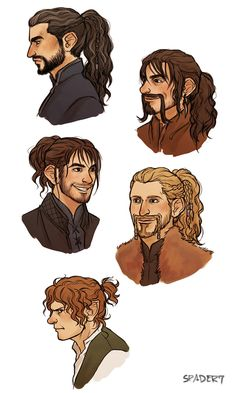 i'm drawing too much hobbit fanart gosh ;w; reblog on tumblr here.