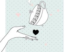 Illustration Love Tea by My Lovely Thing