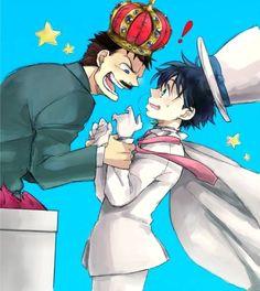 --Ginzo and Kaito Kid--