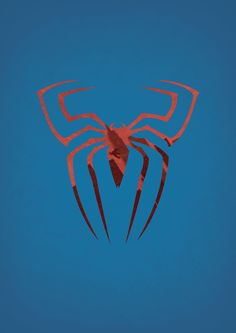 Spider-man (superhero sign poster series) | By: Alex Litovkas
