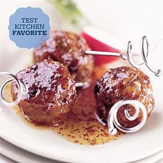 Sweet, Hot and Sour Meatballs
