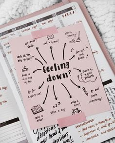 Feeling Down? 🤔 Great Tagged with aesthetics bike boullet journal bujo create dance motivation paper note picture planner read runnig tea we heart it workout