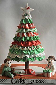 Christmas Morning ~ all cake!!