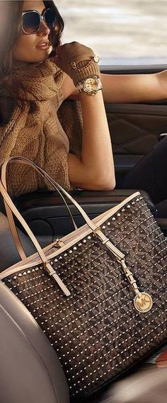 Riding with Michael Kors LBV ♥✤ | KeepSmiling | BeStayClassy