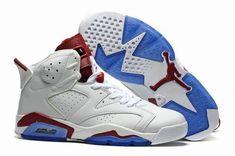 low priced 644ad b53a6 jordan 6 homme chaussure,homme air jordan 6 blanche et rouge et bleu Vans  Shoes