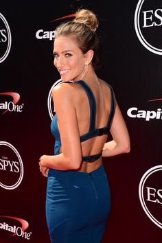 Renee Bargh on the ESPYS red carpet