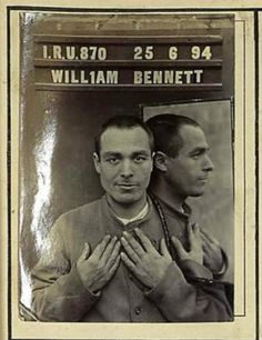William Bennett: The here than his mid-thirties in 1894 photographed William Bennett came early in conflict with the law: Even the age of seventeen, he was arrested for the first time - for night poaching. prison of Dorchester