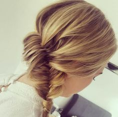 TIght fishtail braid by Hannah WIld