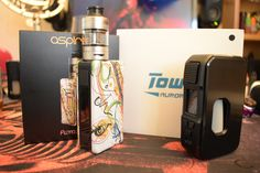 Just in... Aspire Puxos Kit and HCigars Towis Aurora...