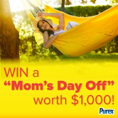 "*THIS SWEEPSTAKES HAS ENDED* Could you use a ""Mom's Day Off""? Repin and enter!"