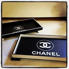 Chanel Inspired Jewelry Cosmetics Tray