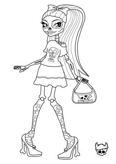 104 Best Monster High Coloring Pages Images Coloring Pages