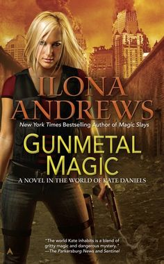 Cover of the Year Nominee, Best Female Cover Nominee, Best Urban Fantasy Cover Nominee - Gunmetal Magic by Ilona Andrews - Cover by Tony Mauro