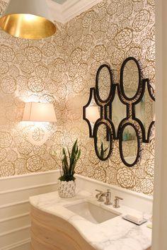 Statement Mirror Awesome Lighting Modern Luxury Bathroom Design Small