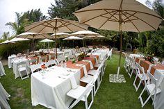 Wedding reception at The Holly Farm in Carmel Valley