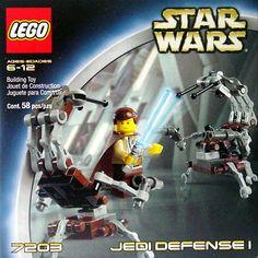 7203 Mini Jedi Defense I  $7  2003