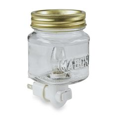 Mason Jar Plug-In Wax Warmer - Home - Home Decor - Candles & Home Fragrance - Candles