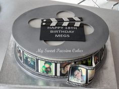 Film Reel Cake | www.facebook.com/mysweetpassion