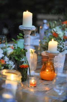 Rustic Summer Wedding @ Müllers Heuriger & Weingut. Candles, Table Decorations, Party, Summer, Home Decor, Wedding, Homemade Home Decor, Summer Time, Receptions