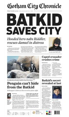 Breaking News: Batkid Comes To The Rescue Of San Francisco, I Mean, Gotham!