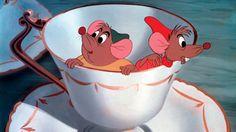 Gus gus and jack was the only reason i used to watch cinderella #lovethem #cute