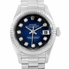 Women's Certified Pre-Owned Watches - Rolex President automaticselfwind womens Watch 69179 Certified Preowned * You can get more details by clicking on the image.