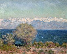 Claude Monet (1840-1926)   View of Cap D'Antibes, 1888   Olio su tela, 65,4 x 80,6 cm  Hill-Stead Museum, Farmington, Connecticut