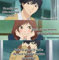 Ao Haru Ride (I couldn't get into this. no idea why) Sad Anime Quotes, Manga Quotes, Kuroko, Futaba Y Kou, Boruto, Sailor Moon, Fairy Tail, Ao Haru, Blue Springs Ride