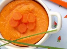 Flan à la carotte
