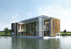 Lo studio di Rotterdam Kraaivanger firma un progetto di bioedilizia dagli elevati standard qualitativi di design