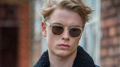 Freddie Fox of Cucumber and Banana Russell T Davies, Freddie Fox, Boyish, Tofu, Cucumber, Sunnies, Tv Shows, Banana, Pure Products
