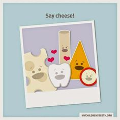 """Cheddar, Swiss, mozzarella, and Monterey jack…. Cheese is one of the healthiest snacks for your child's teeth! Not only does it provide much-needed calcium, it disrupts the development of cavities; especially when eaten as a snack or at the end of a meal. Which kind of cheese has your child saying """"Please?""""  Dentaltown Message Board > Health Topics > Nutrition > Eating cheese can prevent tooth decay: study. http://www.dentaltown.com/MessageBoard/thread.aspx?s=2&f=132&t=207133&pg=1&r=3634563"""
