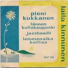 Laila Kinnunen - Pieni Kukkanen (1959, Vinyl)   Discogs Philadelphia Usa, Video Editing, Cover Art, 1950s, Lyrics, Album, Writing, Song Lyrics, Being A Writer