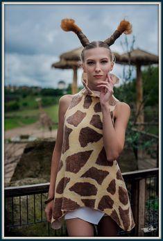 #Tunic #Giraffe #FeltTunic #Giftforgirlfriend #Costume #Animal #etsy #melmetextil #summerdress