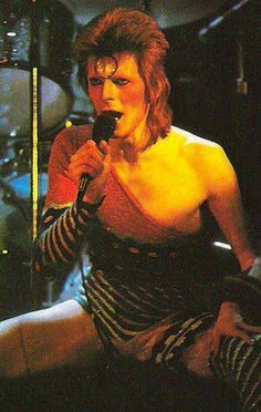 Ziggy. David Bowie Is...inspirational cool. http://www.aboutawomanaboutagirl.com/david-bowie-is-inspirational-cool/