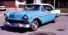 1956 Chevrolet 'Bel Air' ...... A/T, Power Windows   (y)