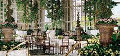 And they have a garden INSIDE! The Garden at the Fairmont Hotel in Seattle- this hotel does teatime!