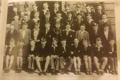 St Gerard's school photo... who can spot 13 year old Billy?.~~~~~~~~~~~~~~~~~~~ To all who said. ..'second row from the front, second from the right'... you are correct. Well done and take a bow