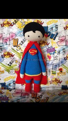 Superman Crochet made by Eleni H./crochet pattern by lalylala