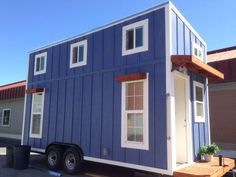 Tiny House Built by Students at Western Sierra YouthBuild