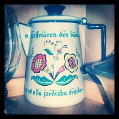 Swedish coffee pot