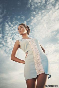 Коллекция молодого российского дизайнера Дины Ковалевой / российские дизайнеры одежды