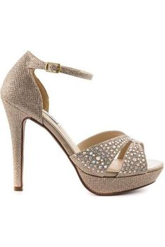 041517fd690 Shelby Champagne Shimmer Heel