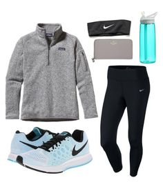 A fashion look from October 2015 featuring fleece pullover, NIKE and blue shoes. Browse and shop related looks. Outfits Otoño, Lazy Day Outfits, Cute Outfits For School, Cute Comfy Outfits, Sporty Outfits, College Outfits, Athletic Outfits, Outfits For Teens, Winter Outfits