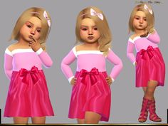 LYLLYAN's Dress Sleeping beauty Sims 4 Dresses, Short Dresses, Summer Dresses, Sleeping Beauty 2, Farm Kids, Sims 4 Toddler, Sims Community, Electronic Art, Princesses