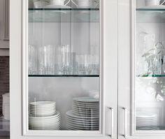 Luxury Diy Glass Cabinet Doors Set