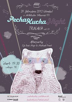 PechaKucha Night Trnava vol. 3 poster by Simona Cechova