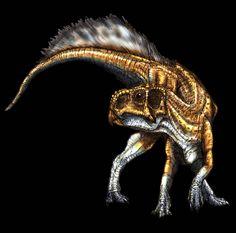 PSITTACOSAURUS | Psittacosaurus by Fafnirx